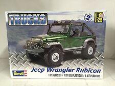 +++ Revell US  Monogram 1/25 Jeep® Wrangler Rubicon Plastic Model Kit 85-4053