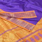 Sanskriti New Blue Saree Art Silk Zari Woven Bollywood Sari W /Blouse Pc Fabric