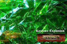 M00181 MOREZMORE Angelina Fantasy Film KEYLIME GREEN Heat Bondable 10' A60