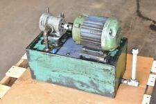 1 Hp 10 Gallon Hydraulic Power Unit Vickers Pump 3 Phase