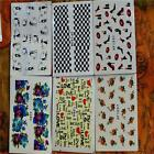 50 Sheets PROMOTION Mix Styles Flower Water Transfer Nail Art Stickers Decals SP