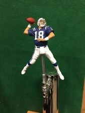 Peyton Manning TAP HANDLE Indianapolis Colts Beer Keg NFL Football Blue Jersey