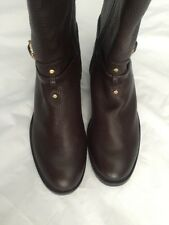 Tory Burch boots Brown Genuine Leather size 6 M 100% Authentic NEW$495