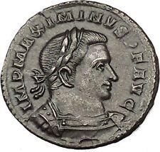 Maximinus II 'Daia' 310AD Ancient Roman Coin Genius Cult Protection  i53325