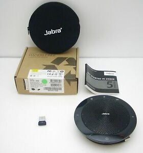 Jabra Speak 510+ MS USB Bluetooth Wireless PC Speakerphone with Link 370 Dongle