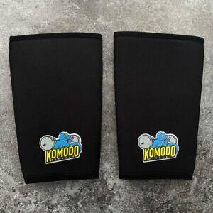 KOMODO FITNESS - Knee Sleeves (Pair) Powerlifting Knee Support - SBD - SALE! NEW