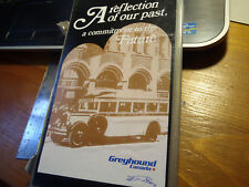 """Greyhound Canada """"A Reflection of our Past. our.Future"""" Bus Dvr Tape Dt"""