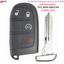 Remote Uncut Key Fob for Dodge Journey Transmitter Push Start Fobik M3N40821302