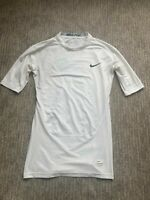 Men's Small Nike Pro Hypercool compression Short sleeve Shirt Dri Fit Football