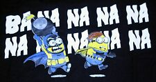 """Batminions"" Batman Despicable Me Minions Mashup Women's Large Shirt Teevillain"