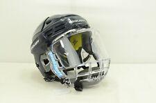 Bauer REAKT 200 Hockey Helmet Black Size Medium With Bauer Concept 3 Mask (0715)