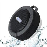 Mini C6 Waterproof Bluetooth Handsfree Mic Suction Speaker Bath Shower Car Gift