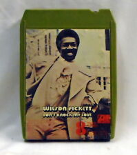 "8 TRACK  Tape Cartridge  Wilson Pickett  ""Don't knock My Love"" Atlantic"