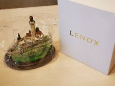 "Lenox ""Light at the Edge"" Lighthouse Scott Spicer Art Sculpture BRAND NEW IN BOX"