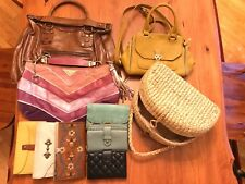 FREE SHIP US/CAN Melie Bianco Nica Fossil Leather Purse Wallet Lot
