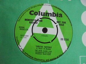The Dave Clark Five - Tabatha Twitchit 1967 UK 45 COLUMBIA DEMO