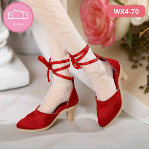 New Red sandals High heels Shoes For 1/4 BJD Doll SD Doll WX4-70
