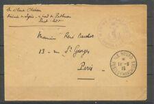 1916 ILE ROUAD/POSTE-FRANCAISES + cachet de la Marine (port-Saïd au dos) X1167