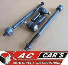 2 Inner 2 Outer Tie Rod Ends FORD Escape MAZDA Tribute MERCURY Mariner Steering