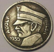 5 REICHSMARK 1935 GERMAN COIN THIRD REICH WWII ADOLF HITLER Exonumia Wehrmacht