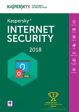 Kaspersky Internet Security 2018 1 PC /User /1 Year / Antivirus / Download 6.54$