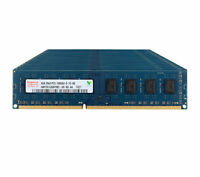 Lot Hynix 4GB 2RX8 PC3-10600U DDR3 1333MHz 240PIN CL9 DIMM Desktop memory RAM &6