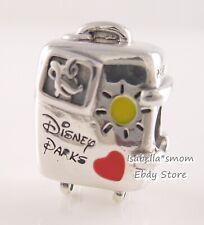 Disney Parks VACAY MODE Authentic PANDORA Vacation SUITCASE Charm 797997ENMX
