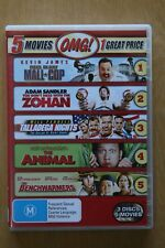 The Animal / Benchwarmers (DVD, 2011, 3-Disc Set)  Preowned (D214)