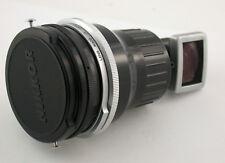 NIPPON KOGAKU Nikkor-O 4/21 4/2,1 2,1cm 21mm F4 for F top finder caps komplett