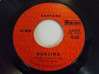 Santana Guajira / Everybody's Everything 45 1971 Columbia Vinyl Record