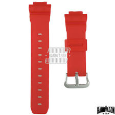 G-Shock Watch DW-6900CL-4 CLOT Red Jelly Original Resin Band Replacement Parts