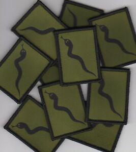 101 Logistics Brigade TRF Tactical Recognition Flash Woven Patch 5cm x 3.7cm