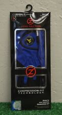 Zero Friction Men's Lh One Size Golf Gloves - West Virginia Mountianeers - Blue