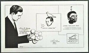 Sideshow Freak: Ripley's Parrot, Shrunken Head, Baseballs. 1933 Worlds Fair, IL.