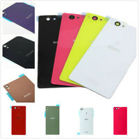 NEW Replacement Glass Panel Back Battery Door Rear Cover For Sony Xperia Series