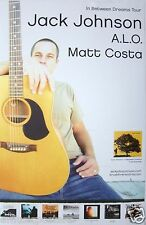 "JACK JOHNSON ""IN BETWEEN DREAMS 2005 TOUR"" POSTER-Jack Sitting Behind His Guitar"