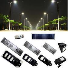 LAMPIONE STRADALE LED PANNELLO FOTOVOLTAICO ENERGIA SOLARE da 20watt a 150watt