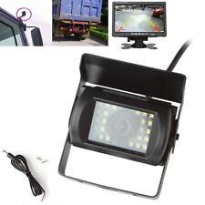 Waterproof LED Rear View Night Vision Monitor Backup Camera for Truck Bus Van