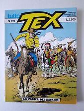 Tex Tutto Tex  Ristampa n. 169 Bonelli Editore anno 1994 La carica dei Navajos