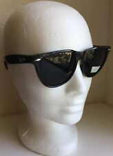 Super Dark Sunglasses Black Lens Style (A) Classic For Men Women W/UV Protection