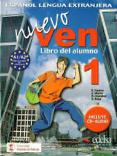 Buy spanish language study books ebay nuevo ven 1 libro del alumno by castro francisca mixed media product 1999 fandeluxe Images