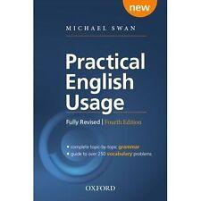 Practical English Usage, 4th edition Paperback; Swan, Michael, 9780194202435