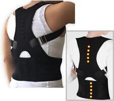US Posture Corrector Support Magnetic Back Shoulder Brace Belt For Men Women DD