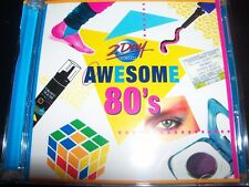 Awesome 80's 2 Day FM Various CD Ft Soft Cell Culture Club Tony Basil Adam Ant –