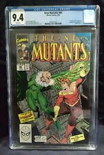 New Mutants 86   CGC 9.4 NM  WHITE PAGES  NEW CASE
