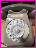 Telefono Vintage Sip anni 70 80 a disco rotella fisso retrò vecchio spina MAGIC