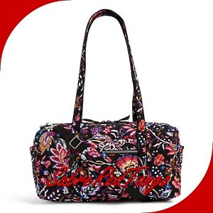 NWT VERA BRADLEY QUILTED ICONIC SMALL TRAVEL DUFFEL BAG FOXWOOD FLORAL