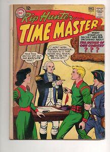 Rip Hunter Time Master #23 1964 GEORGE WASHINGTON COVER! LEGENDS TV SHOW! VG 4.0