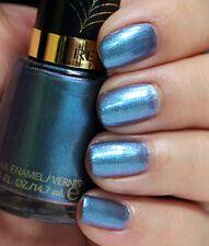 New Revlon blue * I'm Electro * Spiderman 2 Electric Chrome nail polish Ltd. Ed.