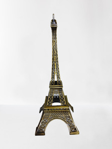Bronze Paris Eiffel Tower Model For Home And Office Decoration Fast Ship